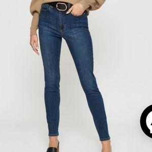 Dynamite Kate high rise medium wash jeans size 31